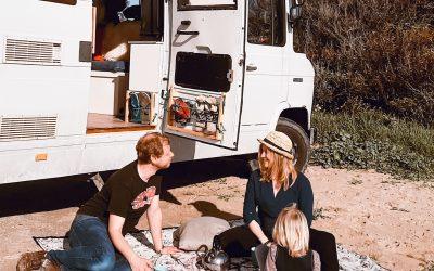 Van(family)life  –  Ein gewöhnlicher Tag in Portugal